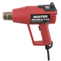 Heat Gun has LCD display and top mounted dial-in controls.