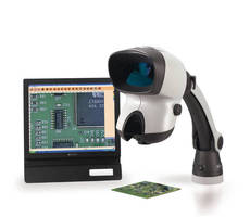 Stereo Microscope has built-in high resolution camera.
