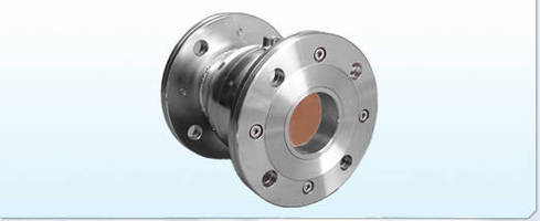 Air Operated Pinch Valve is made entirely of stainless steel.