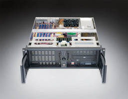 Rack Mount Chassis is acoustically treated to reduce noise.