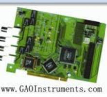 PCI DAQ Card delivers maximum sampling rate of 20 MS/sec.