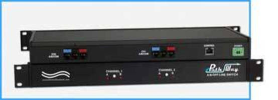 Cat 5e A/B/Off-Line Switch comes with remote control and GUI.