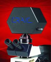 UV-Visible-NIR Spectrophotometer is designed for microscopes.