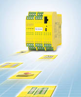 Safety Controller can monitor up to 20 safety input signals.