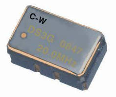 Surface Mount TCXOs suit clipped sinewave applications.