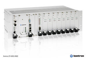 CompactPCI RAID Server features fanless, modular design.