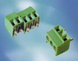 PCB Terminal Blocks are available in 3.5 and 3.81 mm spacing.