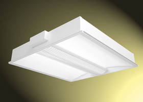 Shallow Recessed Luminaire offers variety of lamping options.