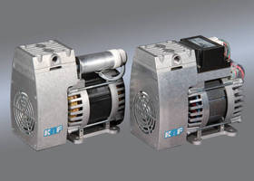 Swing-Piston Pumps are suited for handling air or inert gas.