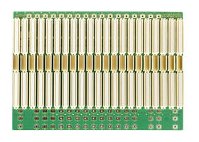 Bustronic has over 30 Standard Slot Sizes of 6U and 7U VME64x Backplanes
