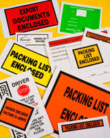 Packing List Envelopes Customized with Quick Turnaround