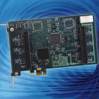 Digital I/O Board features change of state detection.