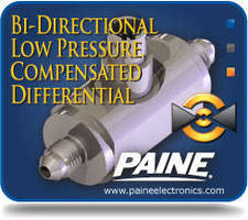 Differential Pressure Transducer tolerates shock and vibration.