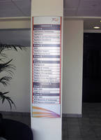 Vista System's Modern Designed and Easily Updateable Way-Finding System was Recently Installed at The Nokia Siemens Building in Israel