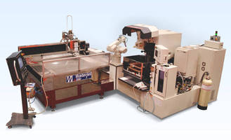 Automated MD+CELL Combines Mitsubishi Wire EDM and Waterjet Technologies