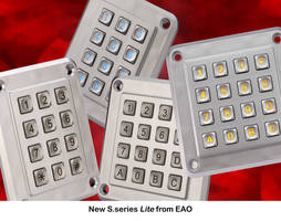 Rugged Plastic Keypad is scratch resistant.