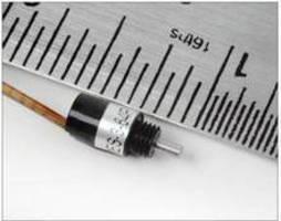 Micro Optical Encoder has 5 mm body dia and 1.5 mm shaft dia.