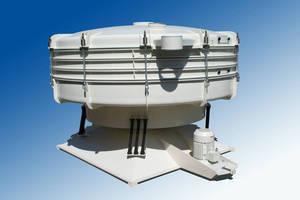 Tumbler Screening Machine measures 8½ ft.
