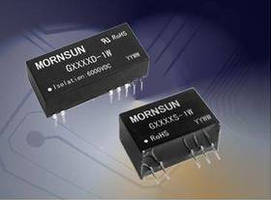 DC/DC Converters have MTBF of 3,500,000 hr.