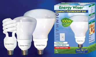 Compact Fluorescents are offered in 3 dimmable versions.