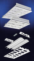 Fluorescent Parabolic Luminaire features 2-lamp design.