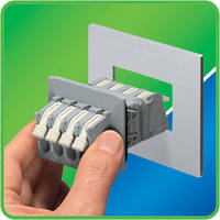 Panel Feedthrough Terminal Block is rated at 300 V/40 A.