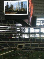 Dallas's Cowboys Stadium Provides Dramatic Backdrop for ABB Power & Control Road Show