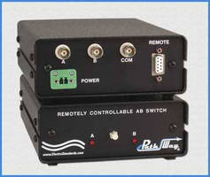 BNC A/B Switch shares test equipment in laboratories.