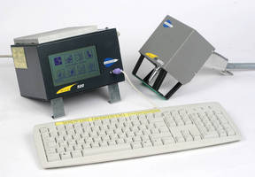 Portable Marking Machine operates at speeds up to 10 char/sec.