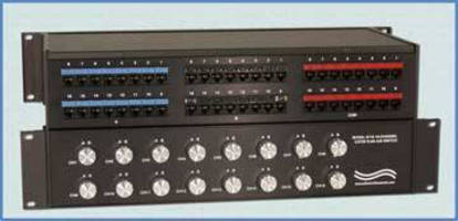 A/B Switch offers 16 individually controlled data channels.