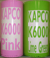New Colors Added to KAPCO® K6000(TM) Gloss Calendered 5-Year Vinyls
