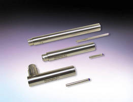 Bi-Polar LVDT Position Sensors feature stainless steel construction.