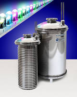 Inlet Trap collects condensable byproducts of LED manufacturing.