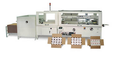 Mechanical Case Packer handles extra large products/cases.