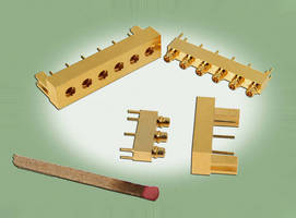 Multiport RF Antenna Connectors suit high density applications.