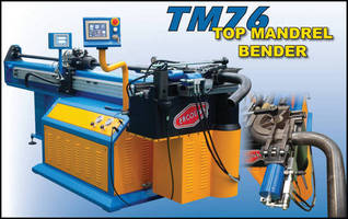 Mandrel Bender handles up to 3 in. round profiles.