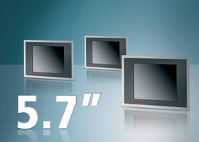 Beckhoff Releases Compact, Energy Saving Industrial Displays with 5.7-inch Screens