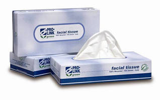 Facial Tissue is green-certified