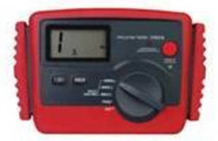 Digital Insulation Resistance Tester is suited for in-field use.