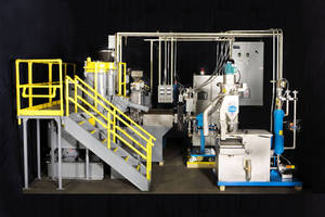 New Compounding Line from TPEI Is Designed for Quick Cleanup and Concentrate Change