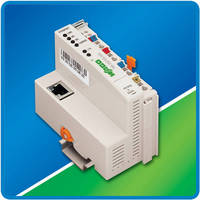 Ethernet Fieldbus Coupler accommodates 64 I/O modules.