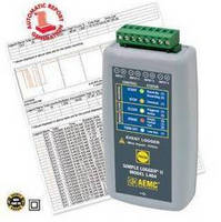 Event Data Logger can store 50,000 events on internal memory.