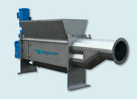 Washer Compactor has dual-auger system.