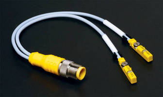 Dual Cylinder Position Sensor installs with single cable connection.
