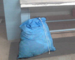 Heavy Duty Laundry Bags are resistant to mold and mildew.