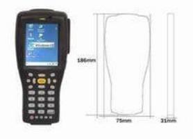 RFID Portable Reader tolerates industrial environments.