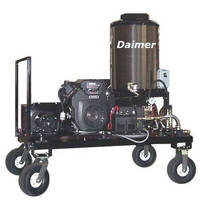 Mobile Pressure Washer has automatic sleep mode function.