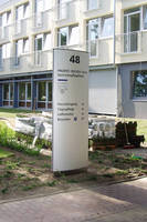 Vista System's Flexible Way-finding System Was Recently Installed at the Evangelistic Mission Center of Kiel, Germany
