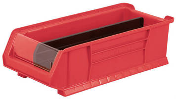 Storage Bins are suited for large parts and products.