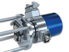Slip Rings can be configured for power or signal connections.